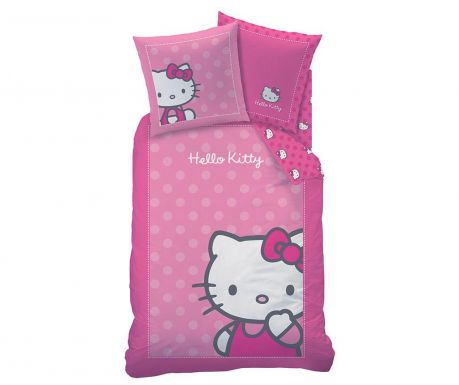 Posteljina Single Ranforce Hello Kitty Camille