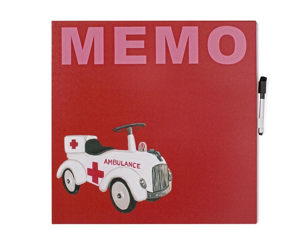 Memo tabla Ambulance