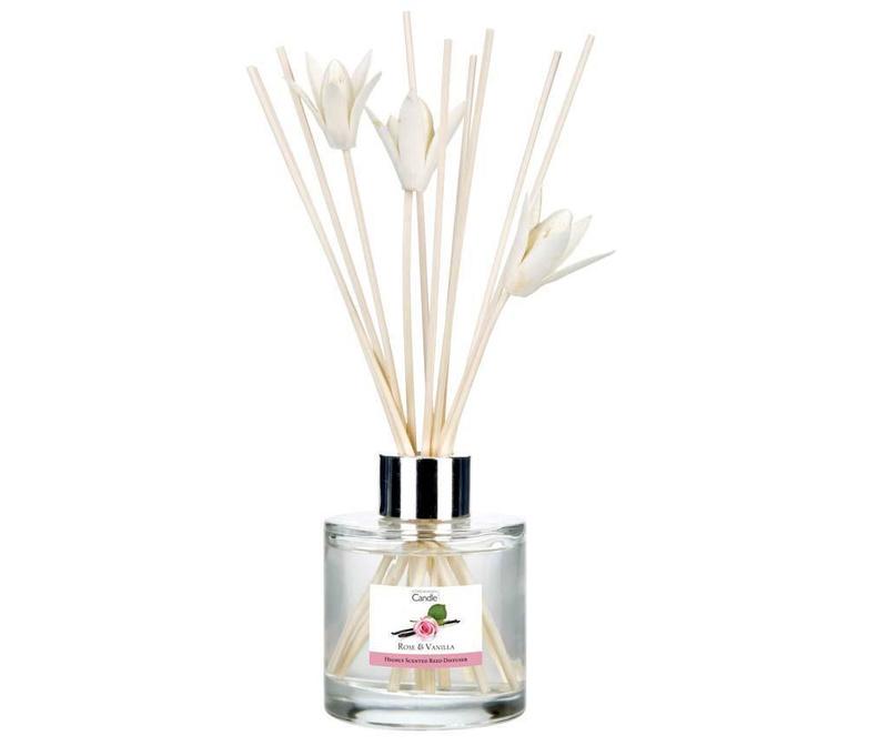 Elegance Rose and Vanilla Szobaillatosító illóolajjal és pálcikákkal 100 ml