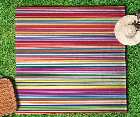 Vintage Stripes Piknik Pléd 150x150 cm - Vivre.hu 1e3a27afe6