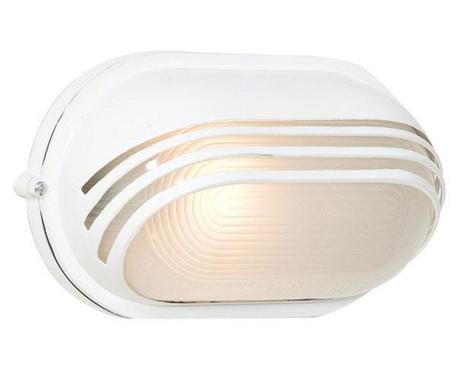 Vanjska zidna svjetiljka Dragon Scales Wide White M