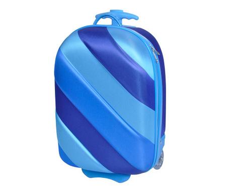 Detský kolieskový kufor Bouncie Boys Blue