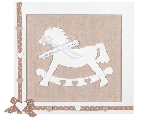 Rocking Horse Ecru Fali dekoráció
