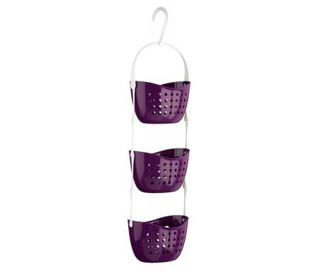 Поставка за аксесоари за баня Helms Purple