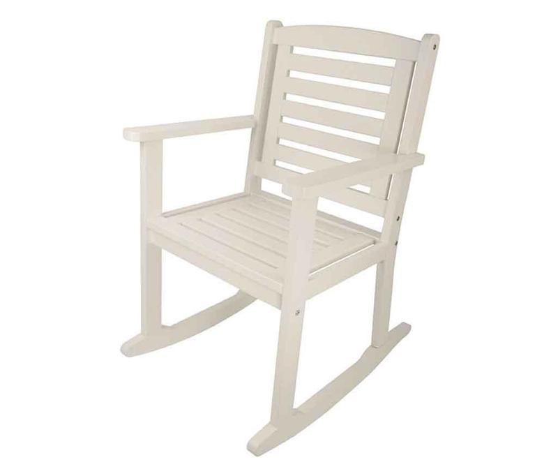 Vrtni gugalni stol Albert White