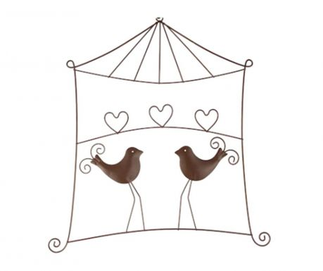Nástěnná dekorace Heart Birds