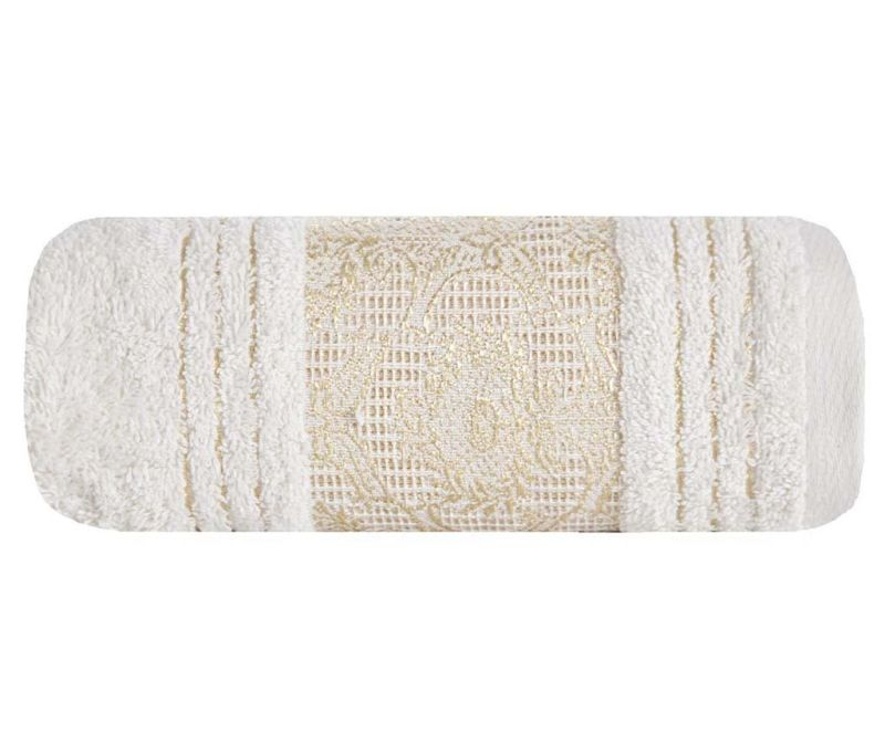 Kopalniška brisača Cairo Cream 50x90 cm