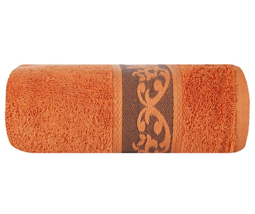 Kopalniška brisača Cezar Orange 50x90 cm