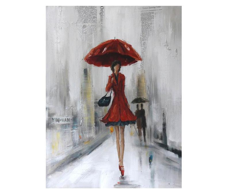 Slika Red Lady 70x100 cm