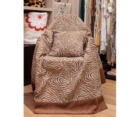 Zebra Brown Fotel takaró 180x200cm c79f2cf563