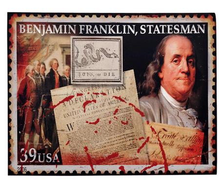 Zidni ukras Benjamin Franklin