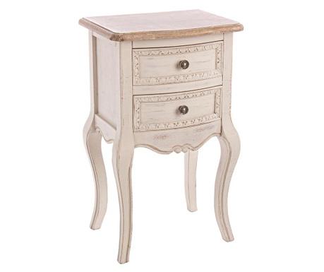 Stolik z 2 szufladami Clarisse