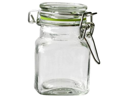 Set 9 borcane cu capac ermetic Ring 85 ml