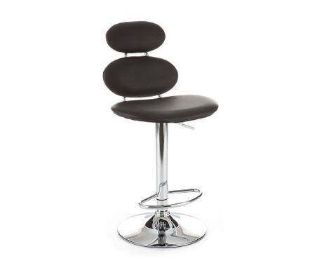 Sada 2 barových židlí Cetus Black
