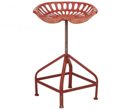 Bar chair Eclectic Red