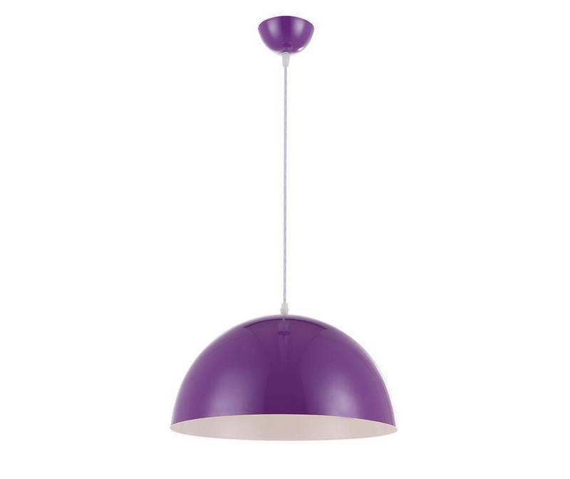 Lustra Half Ball Purple