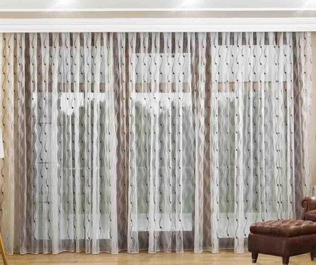 Záclona Koba Brown 200x260 cm