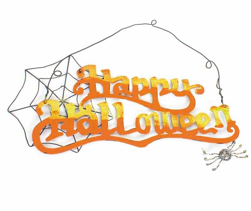 Stenska dekoracija Happy Halloween