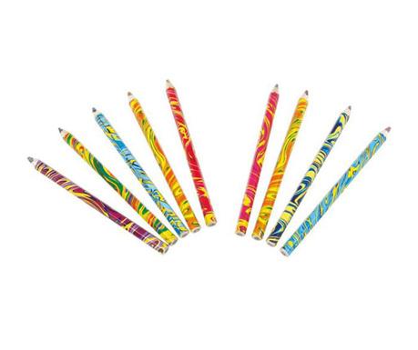 Комплект 9 многоцветни молива Waves