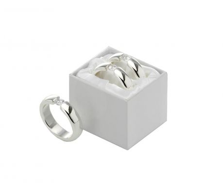 Set of 2 napkins rings Diamond Collection