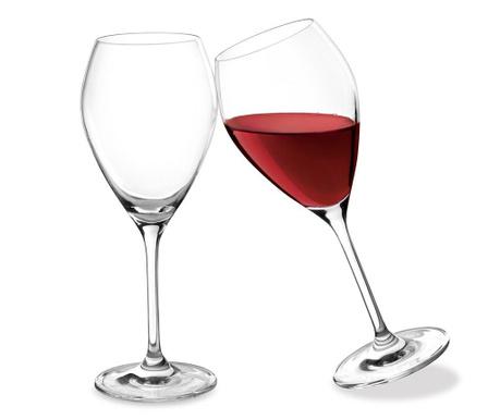 Sada 2 poháre na víno Drop 320 ml