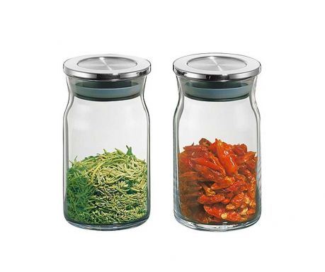 Set of 2 canisters Spice