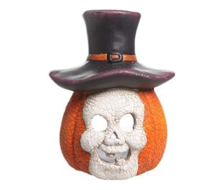 Suport pentru lumanare Pumpkin Skull