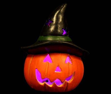 Decoratiune luminoasa Pumpkin Hat