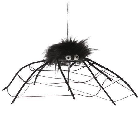 Decoratiune suspendabila Black Spider Web