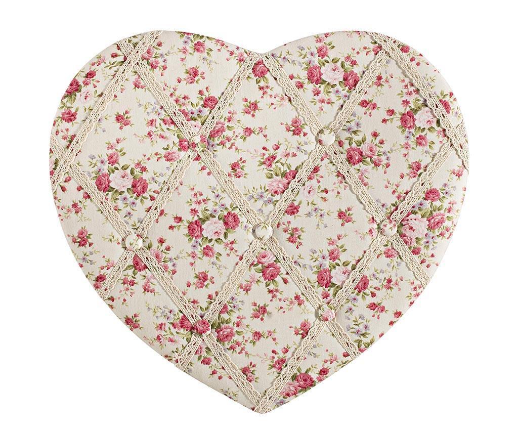Memo panel Rose Heart