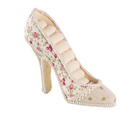 Stojak na pierścionki Romantic Shoe