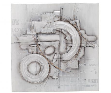 Slika Geometry 100x100 cm