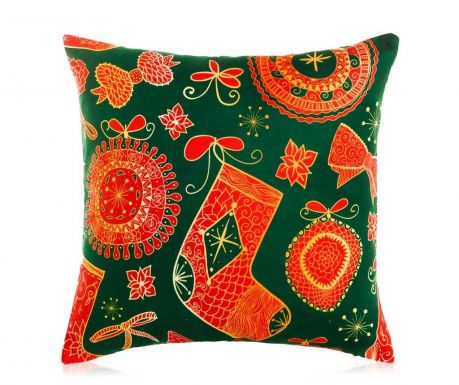 Perna decorativa Christmas Joy 45x45 cm