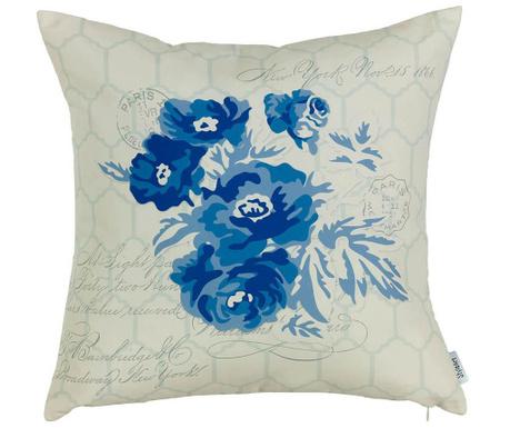 Fata de perna Blue Flower 43x43 cm