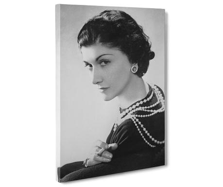 Obraz Coco Chanel Portrait 50x70 Cm Vivrehomepl