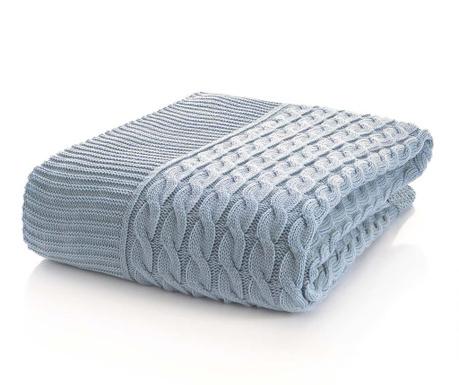 Štrikovaná deka Marvel Light Blue 130x170 cm - Vivrehome.sk ee59635fc6