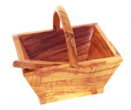 Set of basket and spatula Olivo