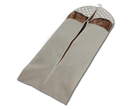 Θήκη ρούχων Jolie Cream 60x137 cm