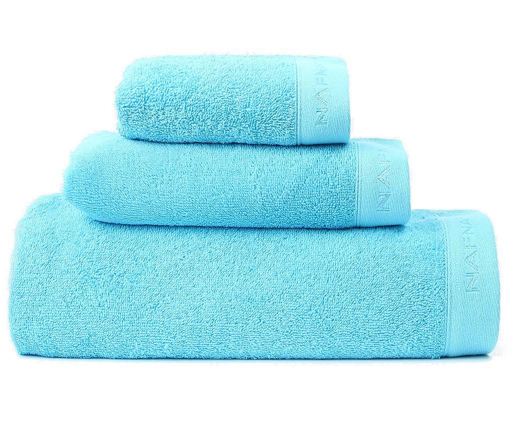 Set 3 kupaonska ručnika Casual Turquoise