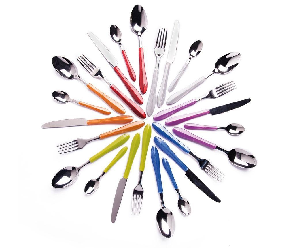 Dwudziestoczteroczęściowy zestaw sztućców Pearl Multicolor