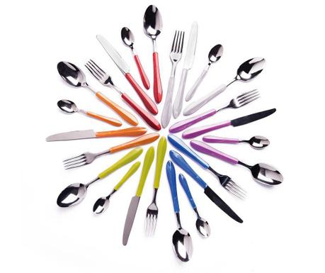 24-delni set jedilnega pribora Pearl Multicolor