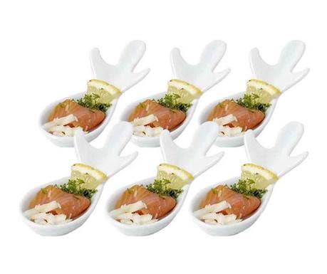 Set 6 linguri pentru aperitive Fishy