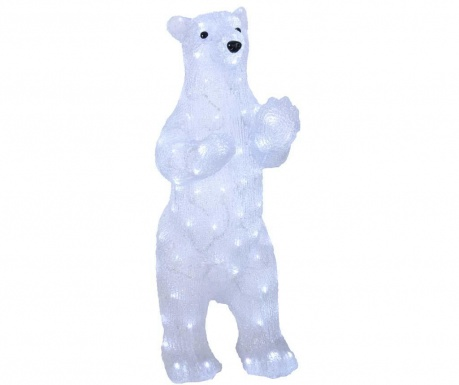 Светеща декорация за екстериор Standing Polar Bear