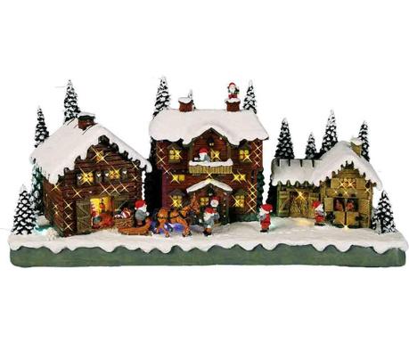 Светеща декорация Santa Claus Village