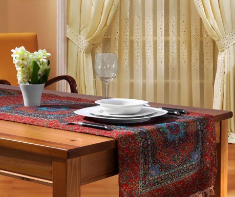 Table runner Saray Red 42x140 cm