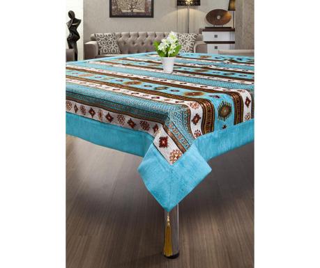 Sedef Turquoise Asztalterítő 155x155 cm