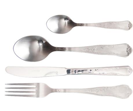 24-dijelni pribor za jelo Steel Her Matt