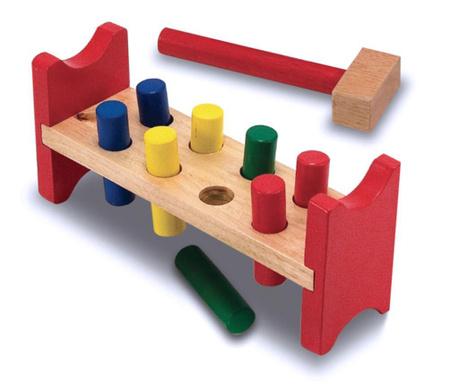 Igra spretnosti s čekićem Rainbow Wood