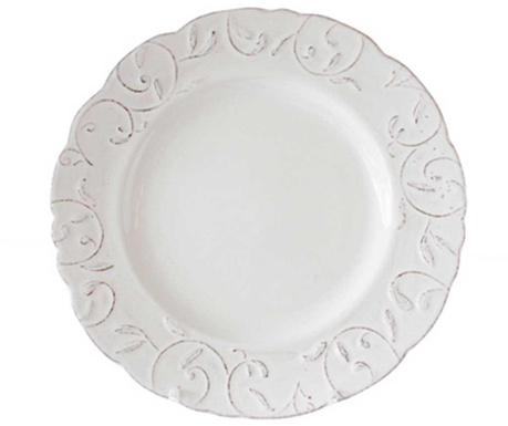 Mělký talíř Feston Cream