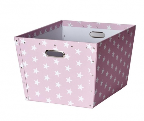 Cutie pentru depozitare Ajax Stars Pink L